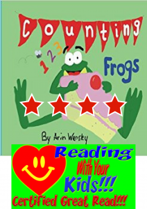 Counting Frogs written by Arin Wensley