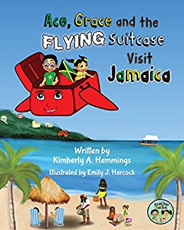 Ace, Grace, and the Flying Suitcase Visit Jamaica