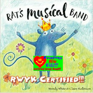 Rat's Musical Band by Wendy Woo