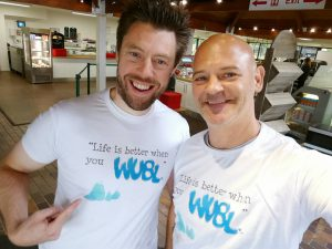 Mark & Leigh, co-founders of WUBL