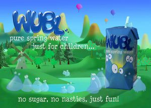 WUBL Water: Spring Water just for Kids