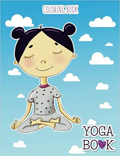 YOGA Book: coloring book by Holz Publishing