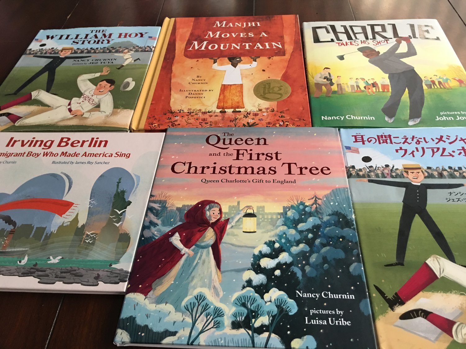Nancy Churnin's Picture Books
