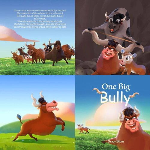 One Big Bully by Tracy Blom