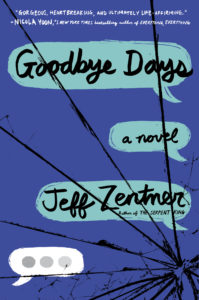 An Interview with Jeff Zentner, Award-winning author of THE SERPENT KING & GOODBYE DAYS!
