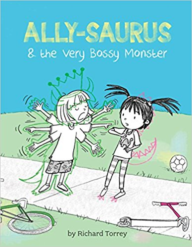 Ally-Sauras and the very Bossy Monster