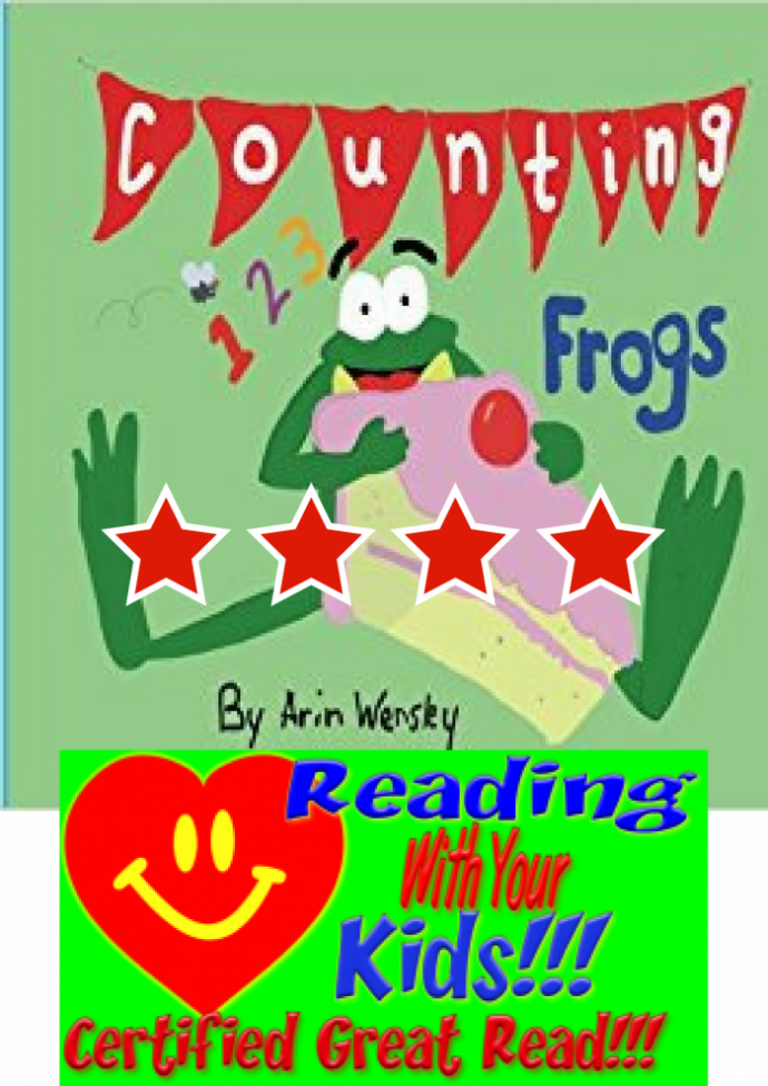 Counting Frogs: #RWYK Great Read Certified