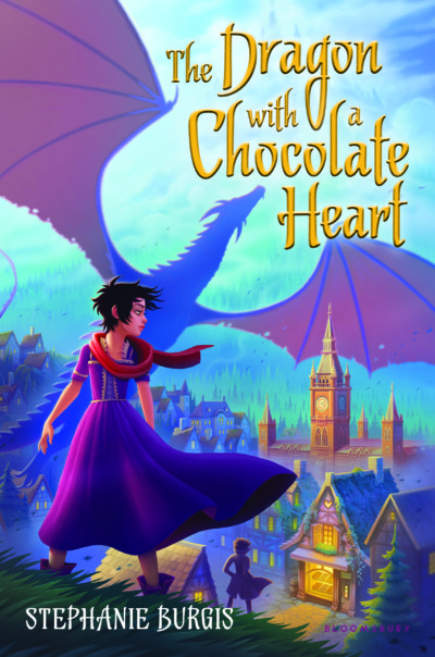 Meet The Dragon with a Chocolate Heart!!