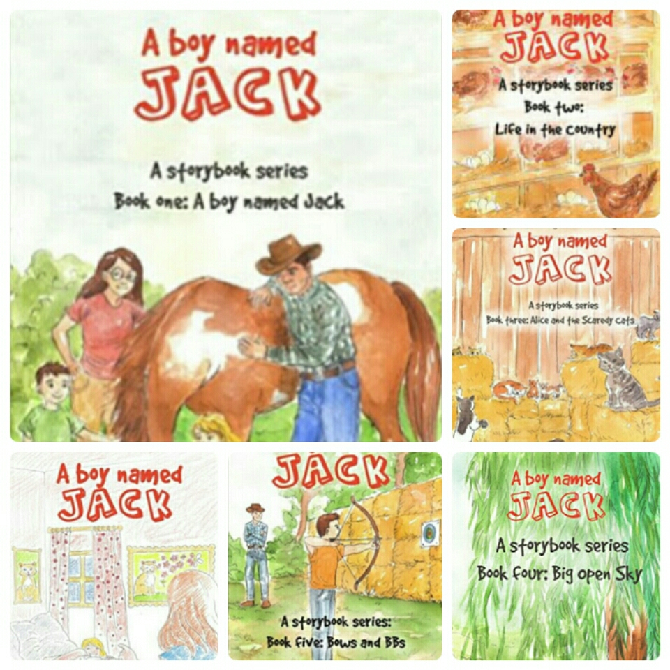 A Boy Named Jack- A Storybook Series by Quay Roads
