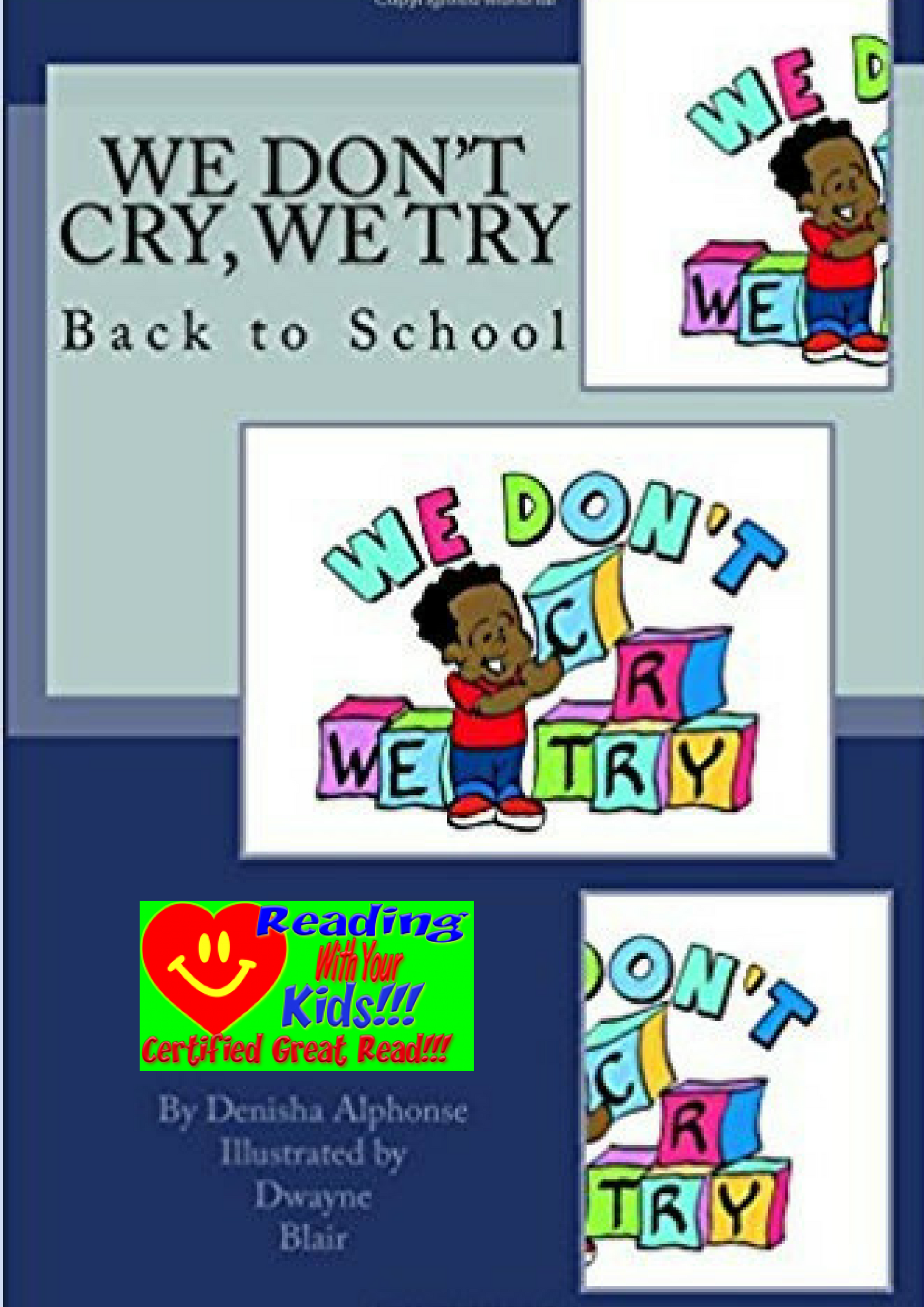 We Don't Cry, We Try: Back to School: #RWYK Great Read Certified