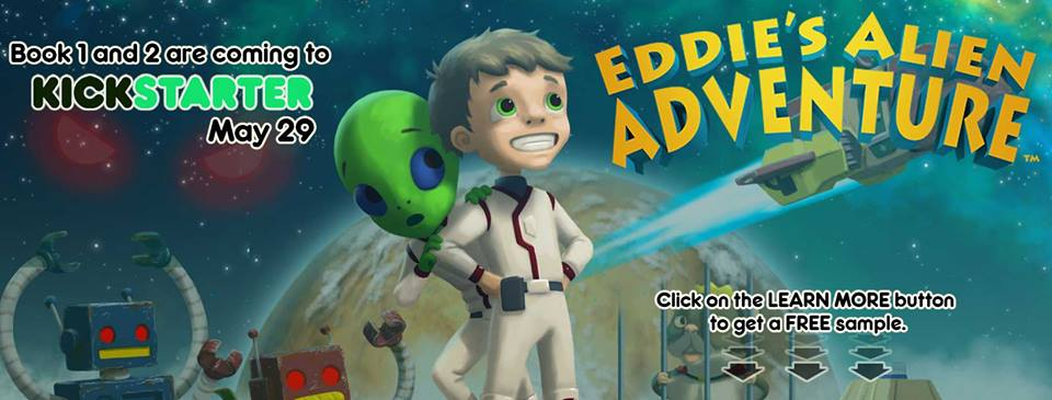 Time To Help Launch Eddie's Alien Adventures