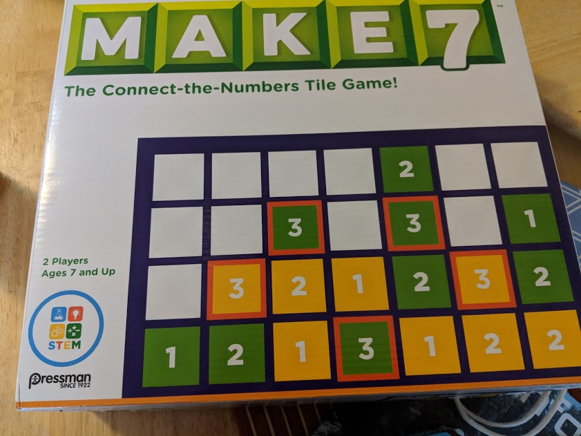 Game Review – Make 7