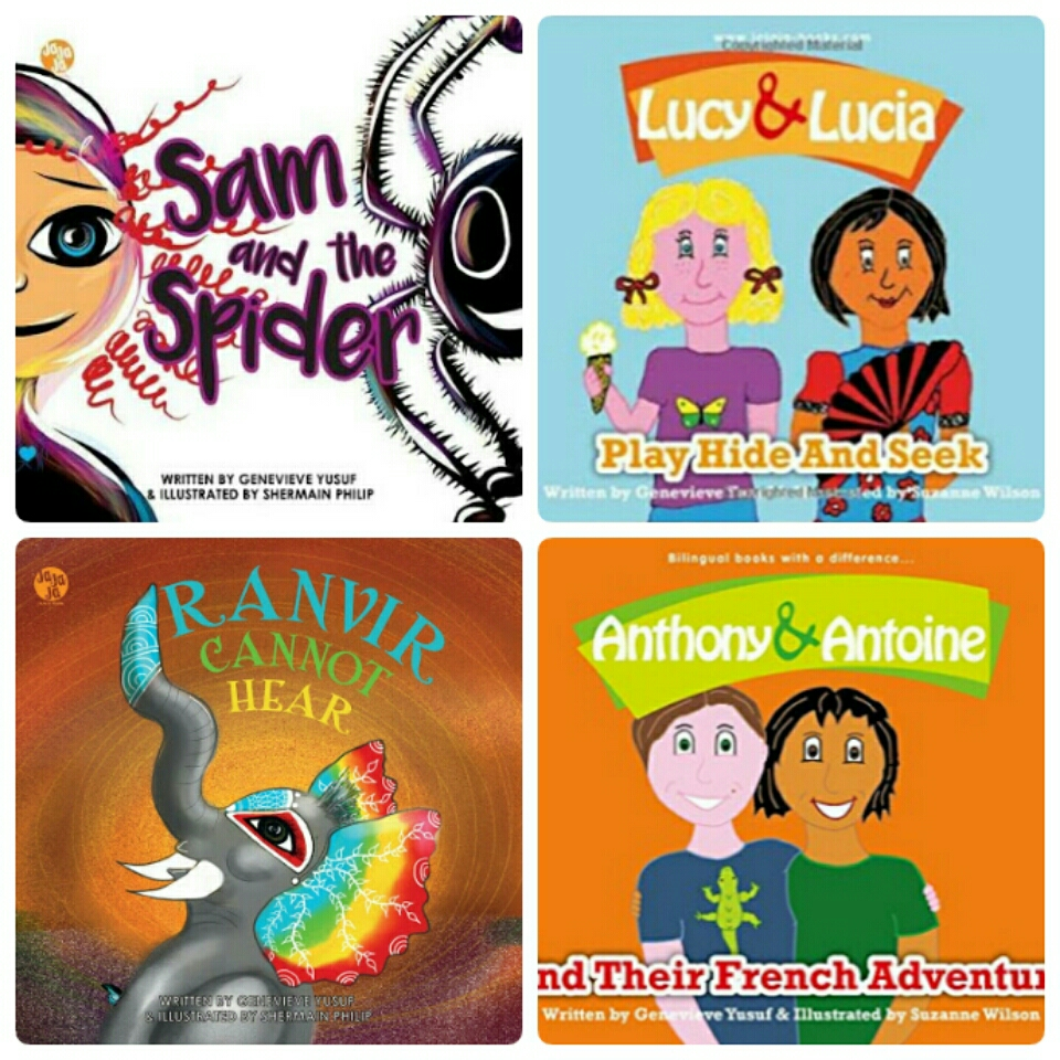 Introducing JaJaJa Books: Bilingual Children's Books with a Difference!!