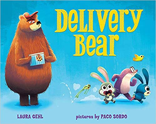 MEET the Delivery Bear: A Children's Book by Laura Gehl!
