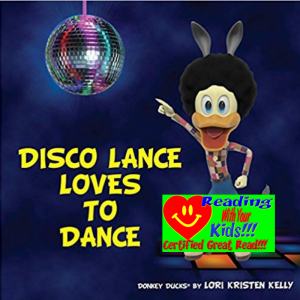 Disco Lance Loves to Dance