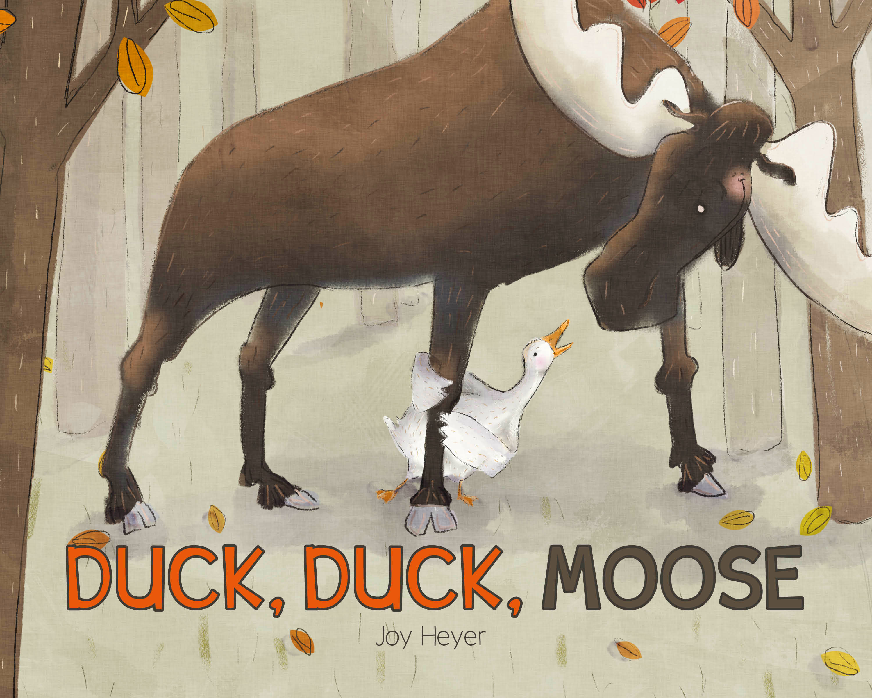 Duck, Duck, Moose by Joy Heyer