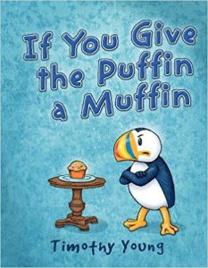 Everyone's favorite puffin is back, and guess what―he's still ANGRY! When Puffin is offered a muffin, he realizes that he's the subject of another picture book and the target of a rhyming scheme gone wrong. His emotions take over and chaos ensues as he tries to escape the story line. Luckily, Puffin knows just where to turn for help. See what happens when characters from other picture books come to Puffin's rescue. Timothy Young fans will have fun spotting characters and scenes from his previously published books, as well as references to other children's classics. Will Puffin get lost in the fantasy worlds, or will he find his way out?