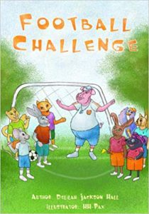 Football Challenge by Delilah Jackson Hall