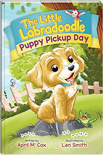 Puppy Pickup Day by April Cox