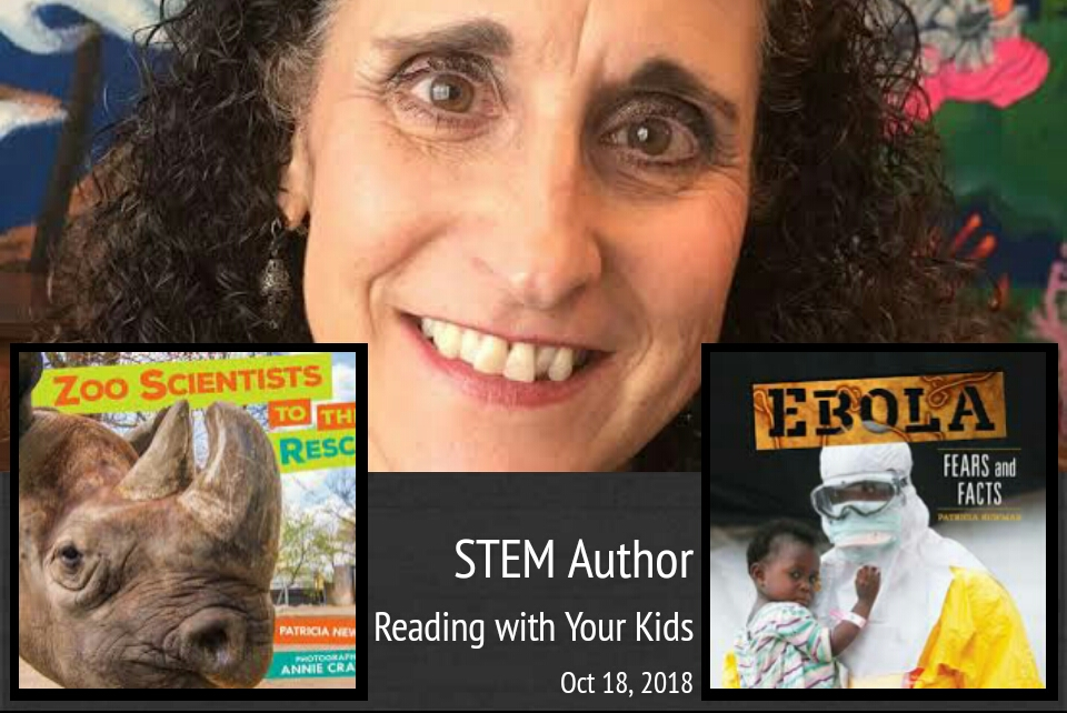 STEM Week Continues with Patricia Newman!!