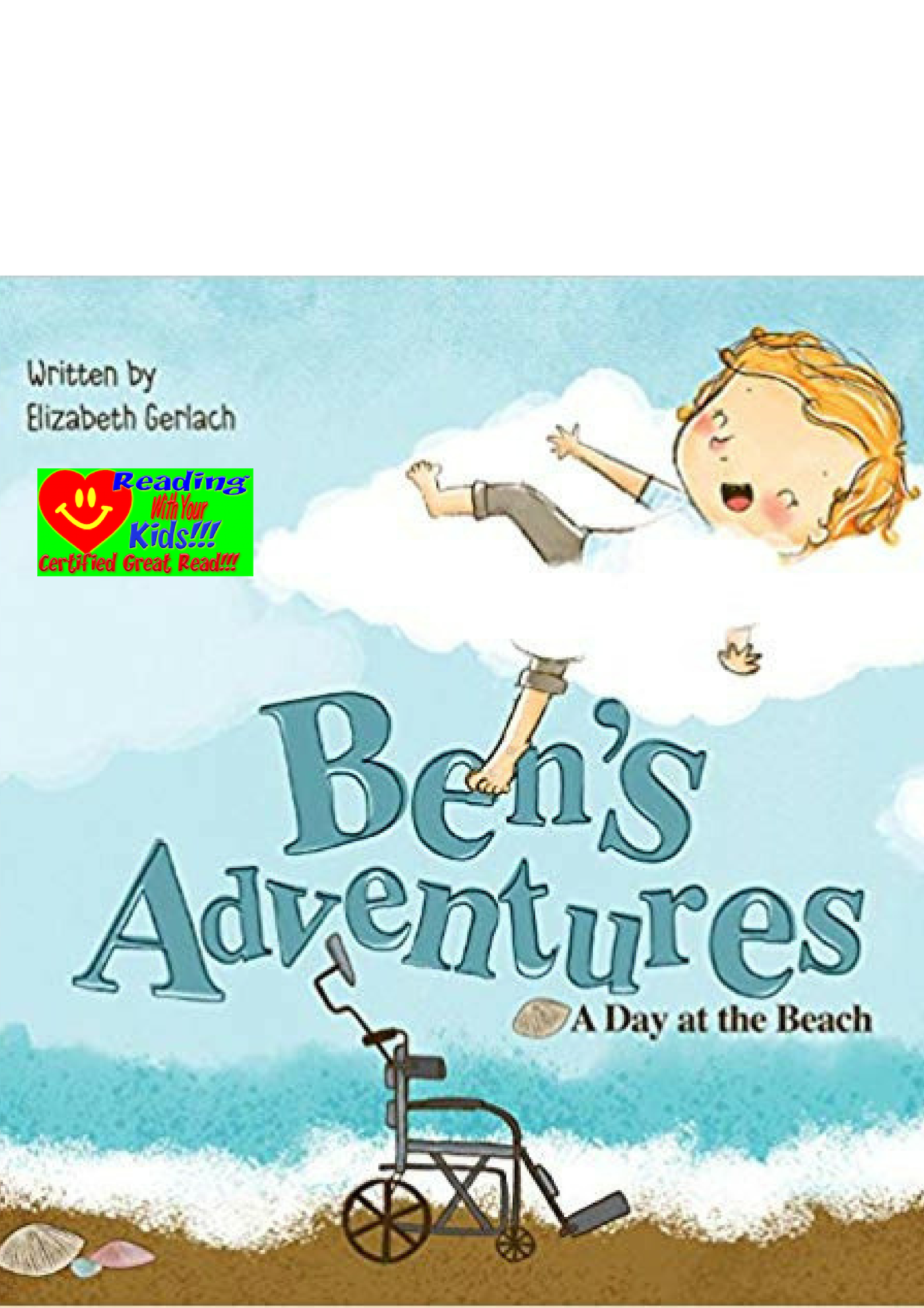 Ben's Adventures: A Day at the Beach: #RWYK Certified Great Read!