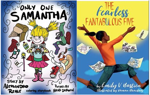 Only One Samantha: Children's Coloring Storybook & The Fearless Fantabulous Five