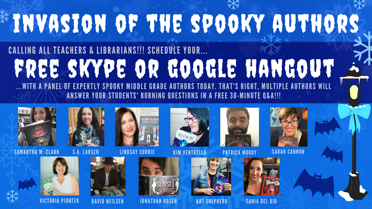 RWYK Christmas Special Edition with SPOOKY MG Authors!!