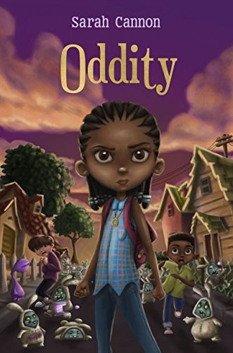 "Meet Sarah Cannon, author of Spooky MG Novel ""Oddity"""