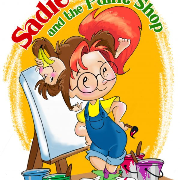Introducing SADIE AND THE PAINT SHOP by Deborah Sherrell