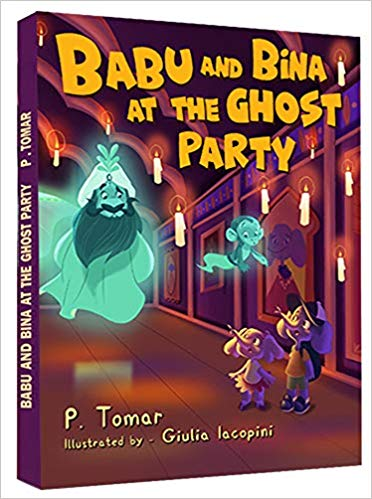 "Join the Adventures of ""Babu and Bina at the Ghost Party"""
