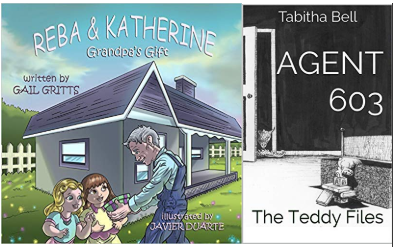 Introducing Two Amazing Kidlit – Grandpa's Gift & Agent 603: The Teddy Files