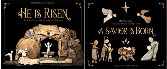 "Patti Rokus on her picture books ""A Savior Is Born"" & ""He Is Risen"""