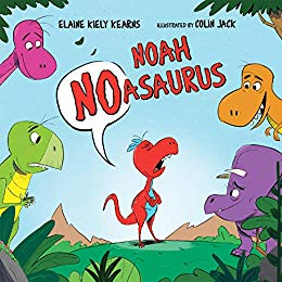 "Meet ""Noah Noasaurus"" by Elaine Kiely Kearns"