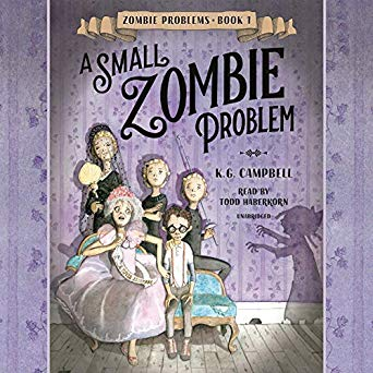 """A Small Zombie Problem"" by K.G. Campbell"