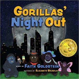 Gorillas' Night Out by Faith Goldstein