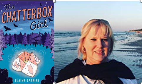 "Introducing ""The CHATTERBOX Girl"" by Elaine Carrier"
