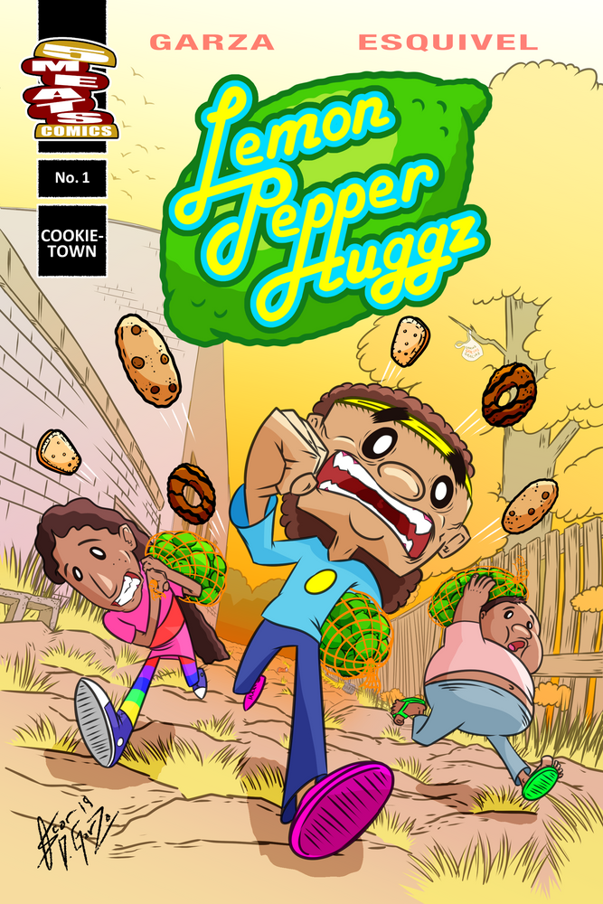 "Oscar Garza and Rolando Esquivel on ""Lemon Pepper Huggz"""