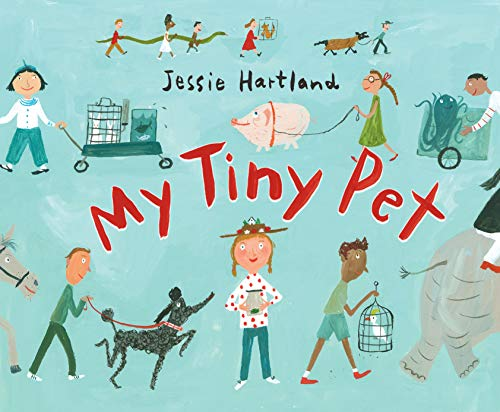 "RWYK Is Excited to Introduce ""My Tiny Pet"" by Jessie Hartland"