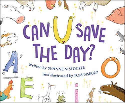 "Join Us In Celebrating ""Can U Save the Day?"" by Shannon Stocker"