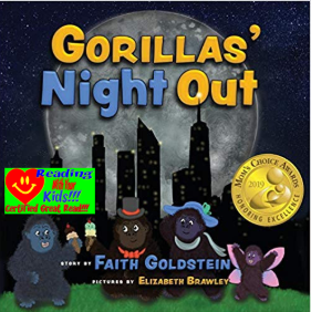 Gorilla's Night Out by Faith Goldstein