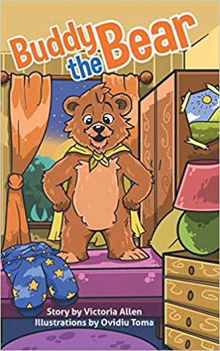 "Introducing ""Buddy the Bear"" by Victoria Allen"