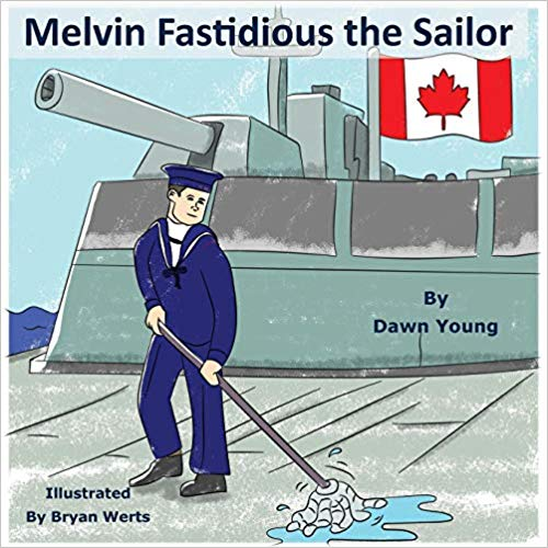 "RWYK is delighted to meet ""Melvin Fastidious the Sailor"""