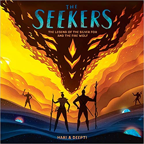 """The Seekers"" by papercut artists Hari & Deepti"