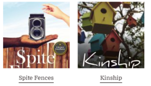 KINSHIP & Spite Fences by Trudy Krisher