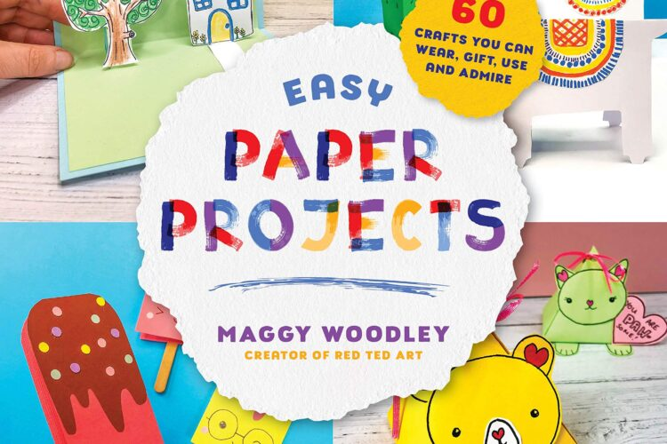 "Introducing ""Easy Paper Projects"" by Crafter and kids' author, Maggy Woodley"
