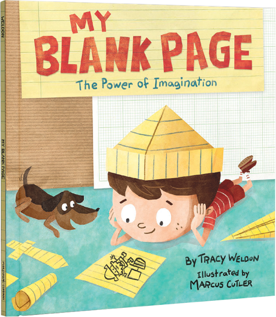 A Chat with Tracy Weldon, author and creator of My Blank Page