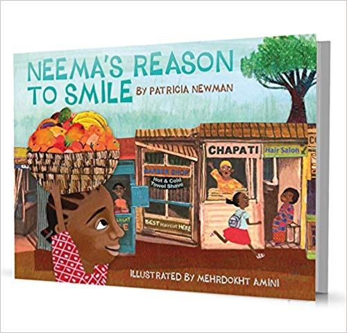 "Our Favourite STEM Author, Patricia Newman on ""Neema's Reason to Smile"""