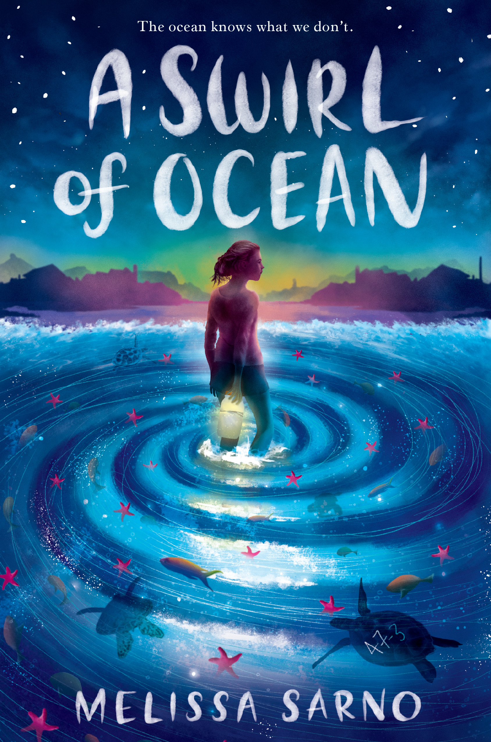A Swirl of Ocean – A Children's Middle Grade Book By MELISSA SARNO