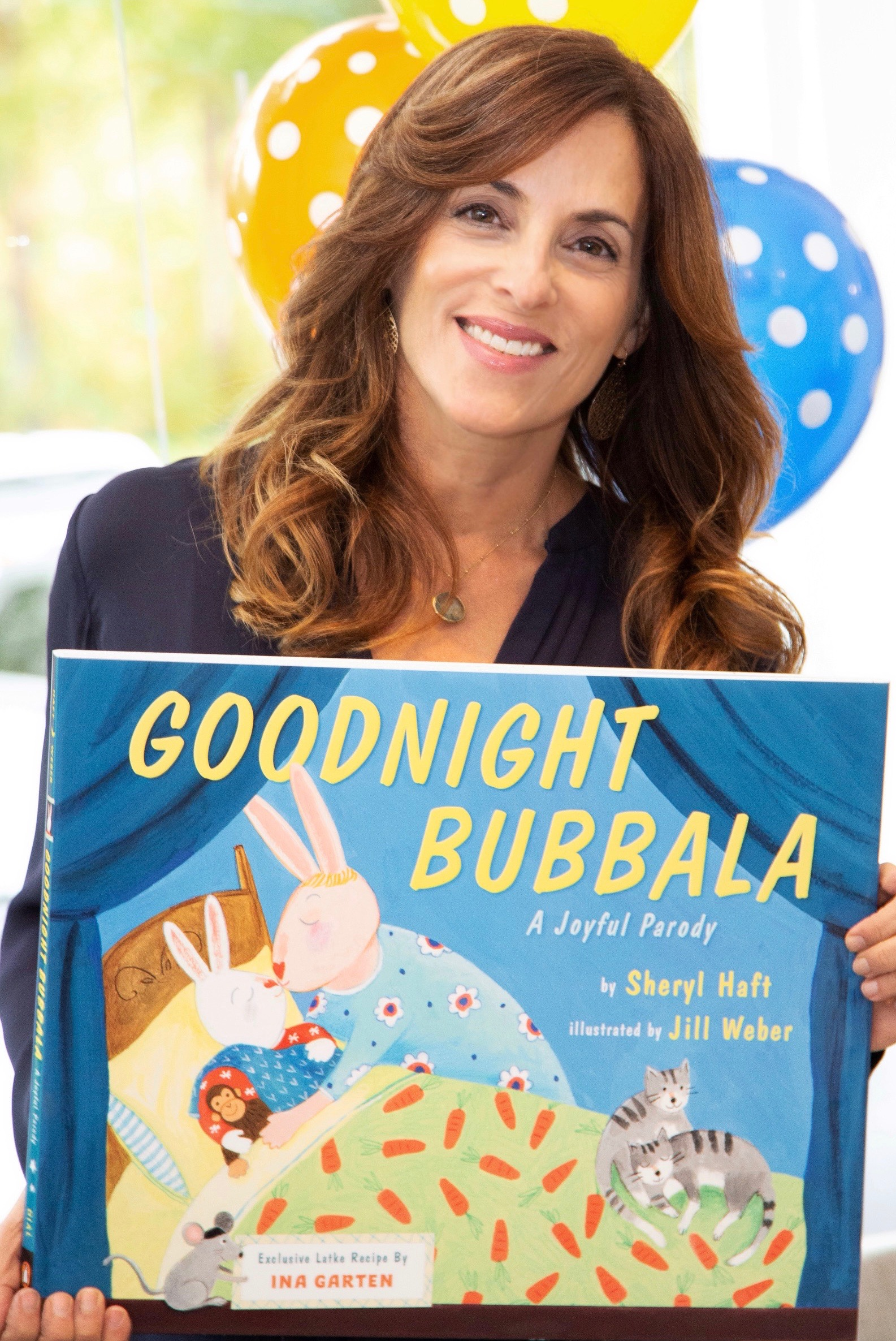 Goodnight Bubbala, an AMAZON #1 BEST SELLER by Sheryl Haft!