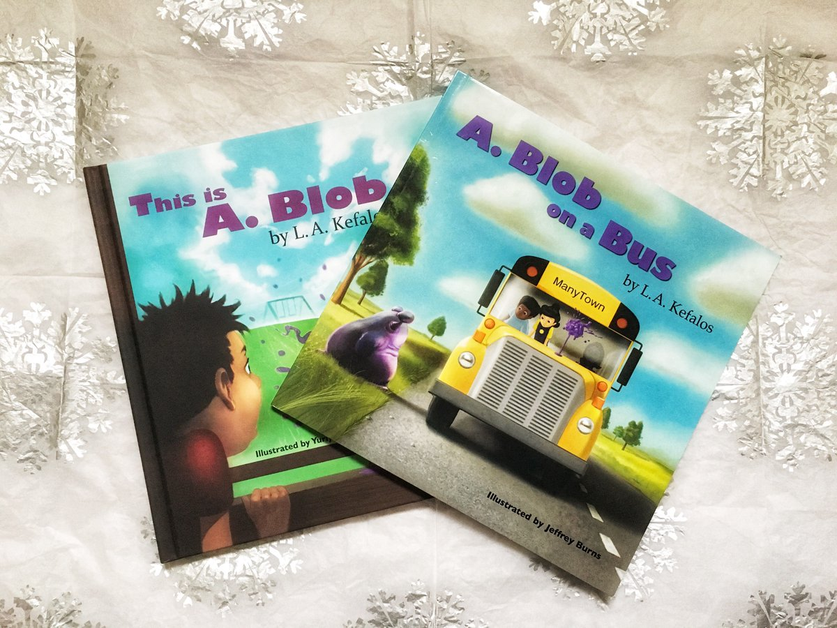 A. Blob on a Bus by L.A. Kefalos – A Picture Book That Addresses Bullying!